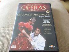 """Dvd """"LES CONTES D'HOFFMANN Offenbach"""" Placido DOMINGO / PLUS GRANDS OPERAS N°22"""