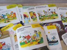 rare lot 150 signed  DISNEY WALT DISNEY information VINTAGE CARDS GAME? france