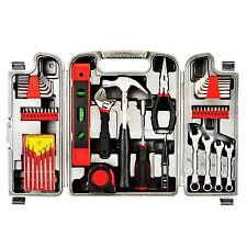 53Piece Universal Hand Tool Set Kit Mechanics Remover Repair Case Toolbox Red