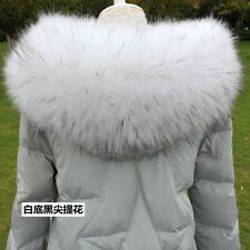 Womens Faux Fur Coat Jacket Hooded Collar Scarf Shawl Wrap Stole Neck Warmer
