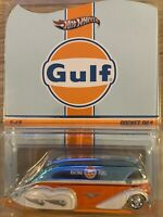 Hot Wheels RLC Gulf Rocket Oil Transporter Card Opened In Protector, 👀 PICS! 🔥