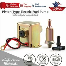 2.5-4PSI Inline Fuel Pump Electric Most Lawn Mowers & Small Engines Gas Diesel