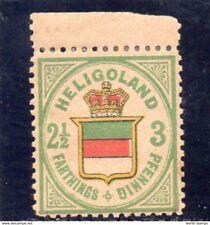 HELIGOLAND 1876 * TRACCIA DI LINGUELLA