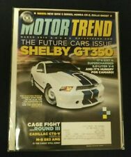 Motor Trend March 2010 10 Shelby GT350 5.0 Mustang Ford Chevy Camaro CTS-V Cad