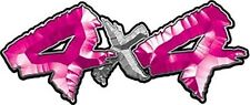 "4x4 Truck Decals Custom Style Pink 14"" REFLECTIVE 031"