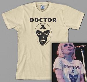 Doctor X T Shirt, blondie Debbie Harry Deborah 70s classic rock punk Lucha Libre