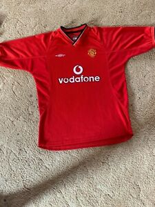 Manchester United Unbranded Football Jersey Size Large