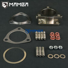 TOYOTA 1HZ 4.2L Diesel Exhaust Manifold 3 Bolt to CT26 Turbo Flange Adapter Kit