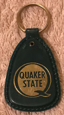 Vintage Quaker State Advertising Keychain