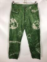 PICALDI Hose, Cord, grün, Größe W32/L30, 100% Baumwolle