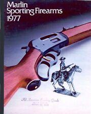 Marlin 1977 Rifles & Shotguns Catalog