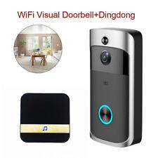Wireless Smart WiFi 720P Doorbell Home Security Door Video Camera Phone Intercom