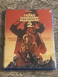 Texas Chainsaw Massacre 2 (Blu-ray, 1986 Tobe Hooper Film) RARE OOP EDITION! NEW