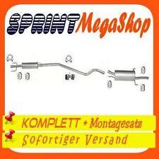 Opel Astra G 1.2 48 KW 1998-2000 Stufenheck Limousine Auspuff Auspuffanlage 0163