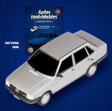 Fiat Duna S 1988 Argentina Rare Diecast Scale 1:43 New Sealed + Magazine