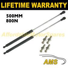 2X Muelles de gas puntales Universal Kit de coche o de conversión 500 mm 50 cm 800N & 4 Pines