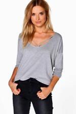 Camisa de mujer de color principal gris talla 36