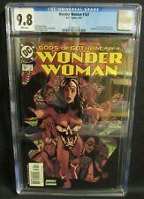 Wonder Woman #167 (2001) D.C Comics CGC 9.8 Classic Adam Hughes Cover  CZ080