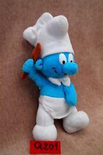 Peluche n°Q201 : SCHTROUMPF cuisinier / SMURFS 20cm  marque FERRERO