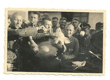 Photo groupe de soldat allemands WW2 (tirage original)