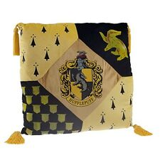 Wizarding World of Harry Potter Hufflepuff Crest Pillow Universal Studios