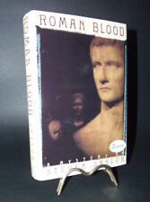 ROMAN BLOOD A MYSTERY BY STEVEN SAYLOR 1991 SIGNED 1ST ED ROMA SUB ROMA VOL 1