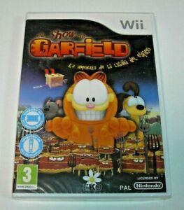 El Show de Garfield Nintendo Wii PAL España precintada
