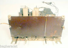 Vintage* RCA 58V RADIO CHASSIS w ALL 8 TUBES & PLUG-IN PRE-SET BANK - Untested