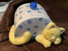 Cats In The Cupboard Cookie Jar Sleeping Kitty Cat by Peter G Blank 2000