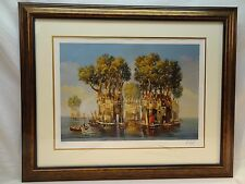 CENTENNIAL CALM-SERIO LITHO BY VERESHAGIN FROM 2004-SIGNED
