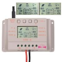 20A MPPT Solar Panel Battery Regulator Charge Controller 12V/24V Light&Time ZH