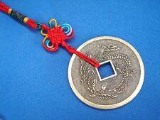 Feng Shui Chinese Dragon Phoenix Coin Charm