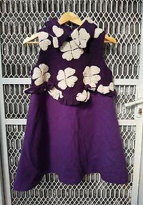 Tune&Tune gorgeous purple winter dress size  6-8 excellent condition