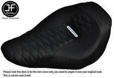 Diamond Negro St Personalizado se ajusta Harley brakeout 13-16 Stock Vinilo Cubierta de asiento delantero