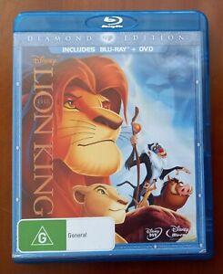 The Lion King (Blu-ray + DVD, 2-Disc Set) Region B Diamond Edition Disney