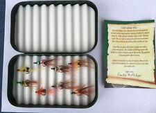 Wheatly Fly Box Limited Edition (Includes 8 Salmon Shrimp Flies)