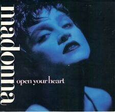 MADONNA  Open Your Heart / White Heat 45 with PicSleeve