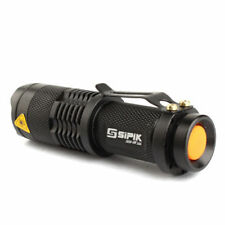 UltraFire SK68 CREE Q5 LED 600Lm Zoomable 14500/AA Flashlight Torch Light Lamp