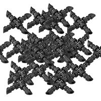 25 Micro Bewässerung Stacheldraht Kreuz Joiner Connector 4mm Hozelock Kompatibel