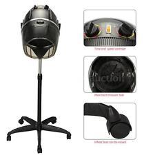 Pro Rolling Stand Salon Hair Blow Dryer Bonnet Hood Base Hair Dryer Timer H9M2