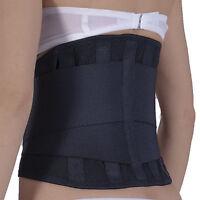 busto fascia elastica sostegno lombare supporto corsetto steccato schiena,reni