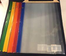 25 x A3 Zip Seal Document Plastic File Storage Wallets Clear Folder Waterproof