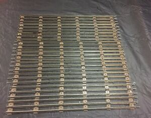 "Lot of Lionel straight track 18"" long 027 gauge. 10 peices"