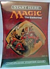Magic The Gathering MTG 10th Edition Starter Game 2 10th. ed. booster packs