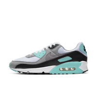 Mens Nike Air Max 90 Trainers CD0881 100 Turquoise/Black Size UK 8 - 10