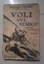 VOLI SUL NEMICO RICORDI DI GUERRA BEMPORAD FUCINI 1935