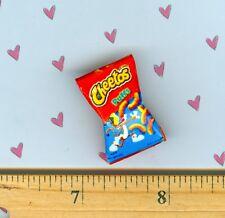 new DOLLHOUSE Miniature Size Cheese Puff CHIP Bag # CP