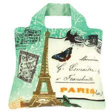 Envirosax Foldable Reusable Shopping Bag Oxford Grocery Art Tote Travel 3 Paris