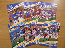 6 different Portsmouth homes 1992/93, all in PERFECT CONDITION