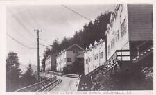 RP: OCEAN FALLS , B.C. , Canada , 30-40s; Burma Road & New Duplex Homes